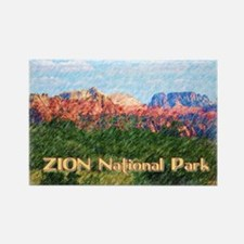Cute Zion Rectangle Magnet