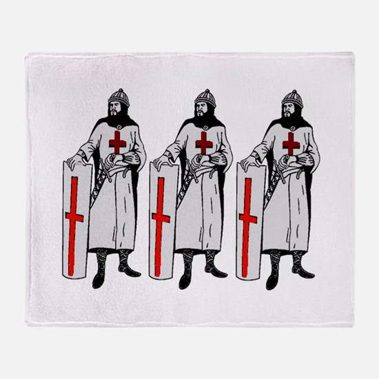 KNIGHTS Throw Blanket