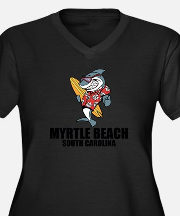 Myrtle Beach, South Carolina Plus Size T-Shirt