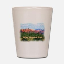 Zion National Park, Utah Shot Glass
