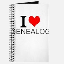 I Love Genealogy Journal