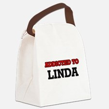 Addicted to Linda Canvas Lunch Bag