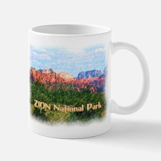Zion National Park, Utah Mugs