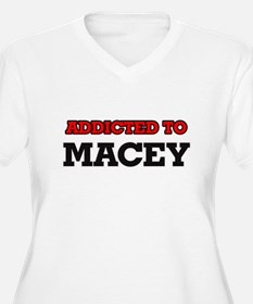 Addicted to Macey Plus Size T-Shirt