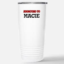 Addicted to Macie Travel Mug