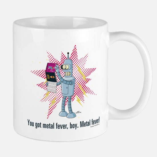 Futurama Metal Fever Mug