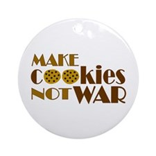 Make Cookies Ornament (Round)