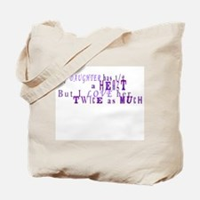 Cute Twice Tote Bag