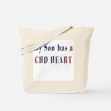 Funny Chd awareness Tote Bag
