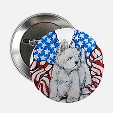 "God Bless Westies 2.25"" Button (100 pack)"