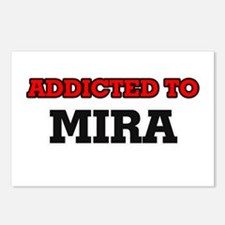 Addicted to Mira Postcards (Package of 8)