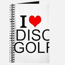 I Love Disc Golf Journal