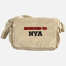 Addicted to Nya Messenger Bag