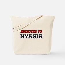 Addicted to Nyasia Tote Bag