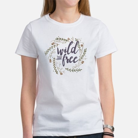 Wild and Free Womens Classic T-Shirt