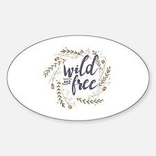 Cute Creative Sticker (Oval)