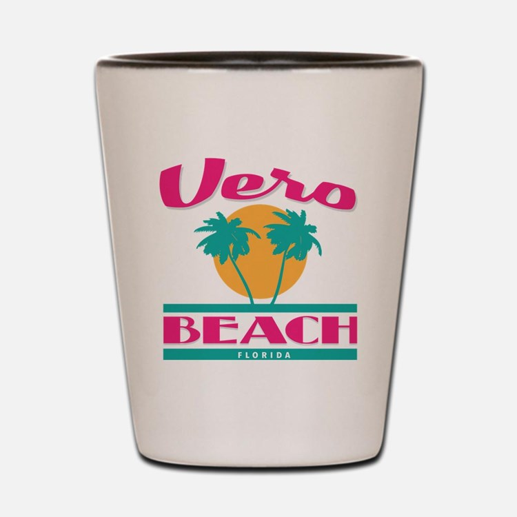 Cute Funny beach Shot Glass