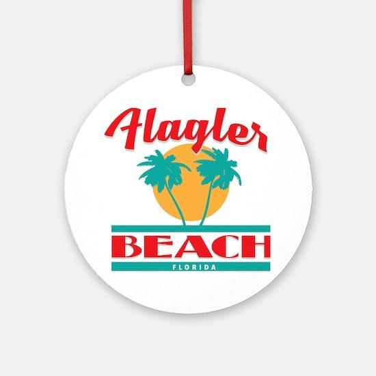 Unique Florida souvenir Round Ornament