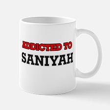 Addicted to Saniyah Mugs