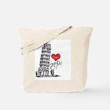 Unique Pisa Tote Bag