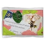 Nature Quote Collage Pillow Sham