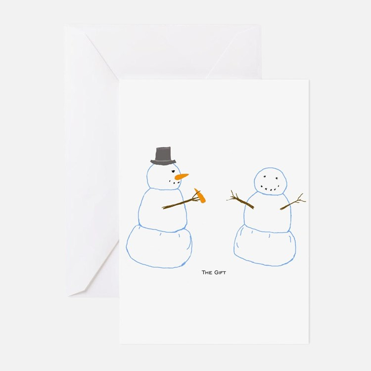 Snowman Donor Christmas Greeting Cards (Pk of 20)