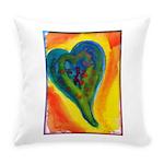 Bright Valentine Everyday Pillow