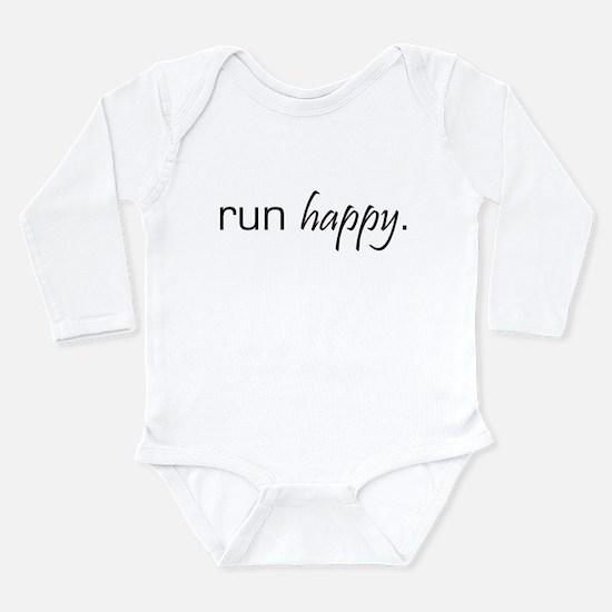 Run Happy Infant Creeper Body Suit