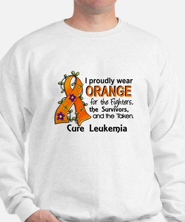 Orange For Fighters Survivors Taken Leu Sweater