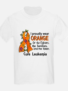 Orange For Fighters Survivors T T-Shirt