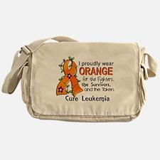 Orange For Fighters Survivors Taken Messenger Bag