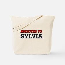 Addicted to Sylvia Tote Bag