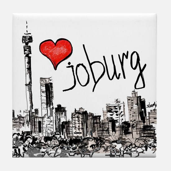 I love Joburg Tile Coaster