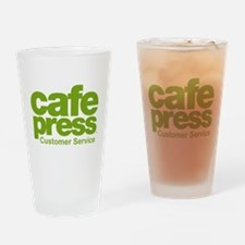 cafe press customer service Drinking Glass