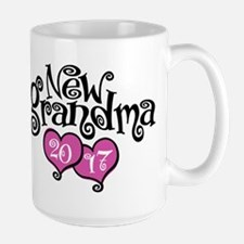 New Grandma 2017 Large Mug