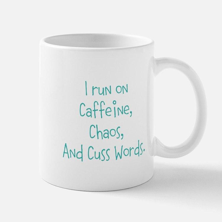 I run on Cafeine Mugs