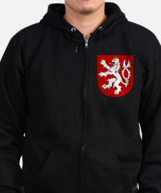 Cute Czech republic Zip Hoodie
