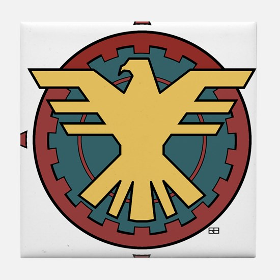 The Thunderbird Tile Coaster