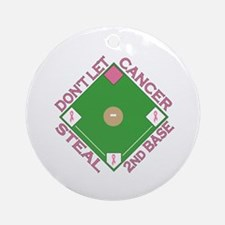 2nd Base Ornament (Round)