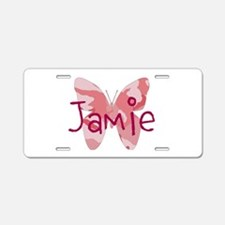 camo butterfly : name personalize, initials Alumin