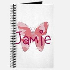camo butterfly : name personalize, initials Journa