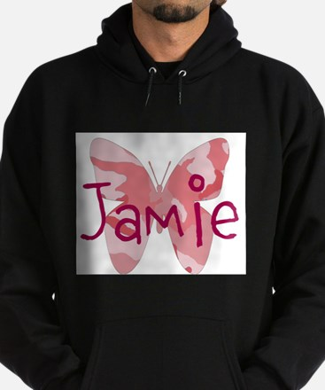 camo butterfly : name personalize, initials Hoodie