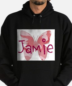 camo butterfly : name personalize, initials Hoody