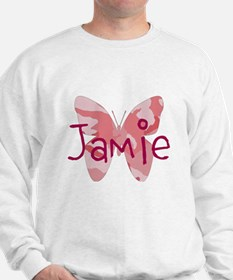 camo butterfly : name personalize, initials Sweats