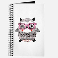 Embroider Look Owl Journal