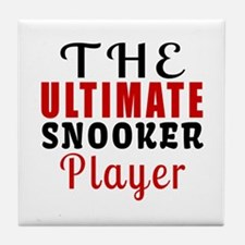The Ultimate Snooker Player Tile Coaster