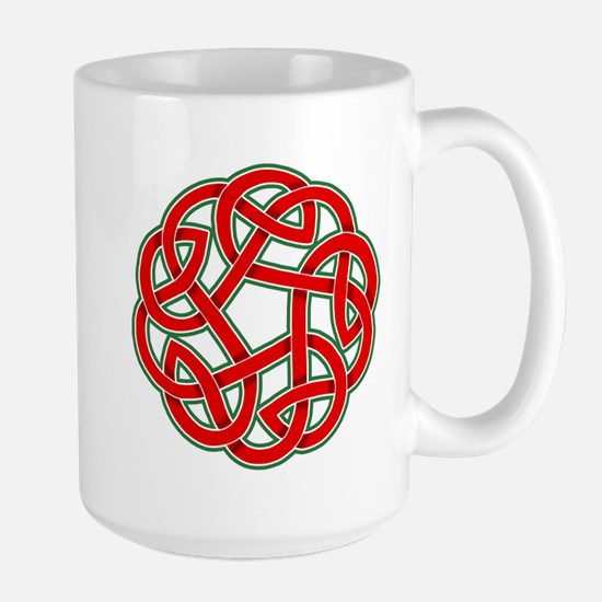 Celtic Christmas Knot Large Mug