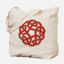 Celtic Christmas Knot Tote Bag