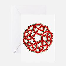 Celtic Christmas Knot Greeting Card