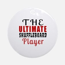 The Ultimate Run Player Round Ornament